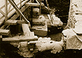 1981: excavation of Maison Mallet